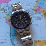 セイコーSEIKOパイロットクロノグラフ 腕時計 逆輸入 海外モデル