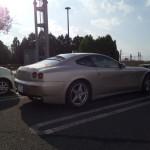 フェラーリ612に遭遇